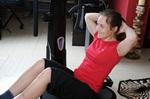 Vibrationsplatte Bauchmuskeln trainieren